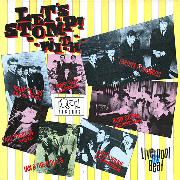 Various ‎– Let's Stomp! Liverpool Beat 1963 (Vinyle usagé / Used LP)