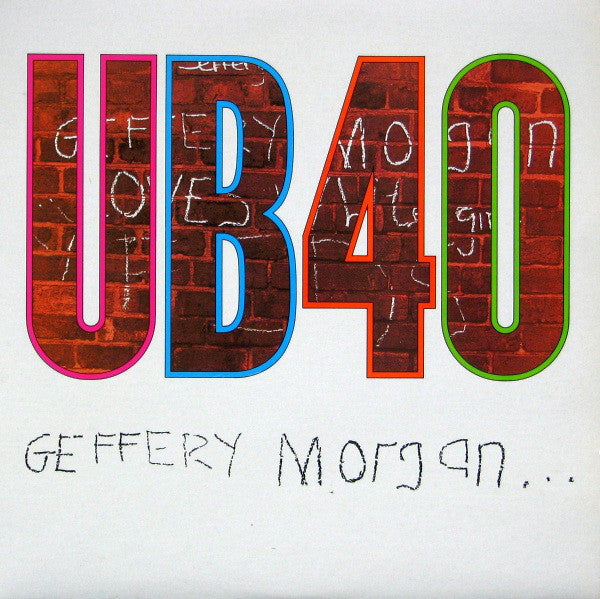 UB40 ‎– Geffery Morgan... (Vinyle usagé / Used LP)