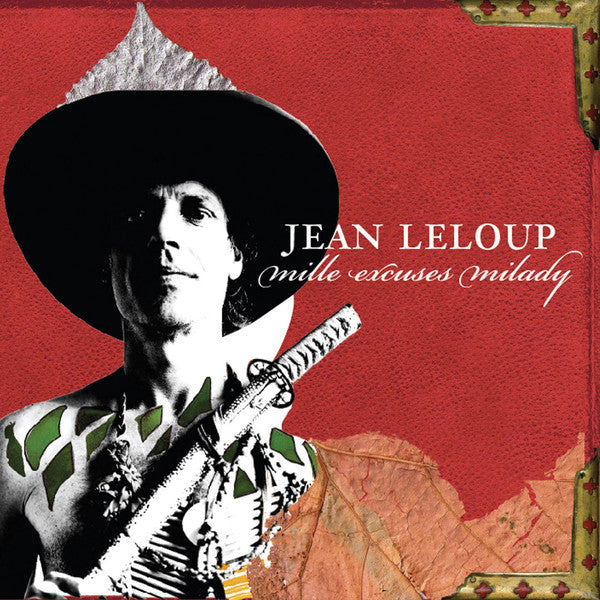 Jean Leloup ‎– Mille Excuses Milady (Vinyle neuf/New LP)