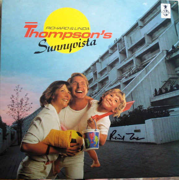 Richard & Linda Thompson ‎– Sunnyvista (Vinyle usagé / Used LP)