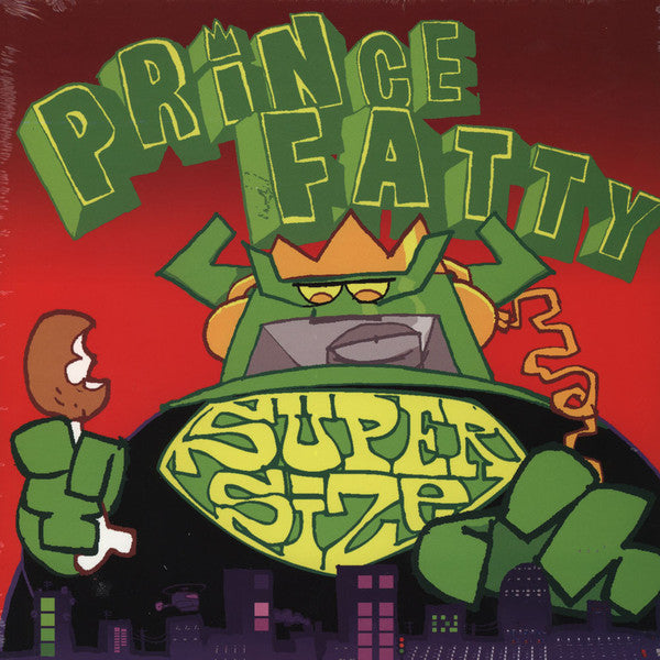 Prince Fatty ‎– Super Size (Vinyle neuf/New LP)