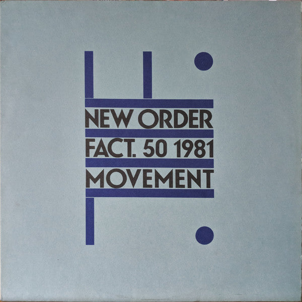 New Order ‎– Movement (Vinyle neuf/New LP)