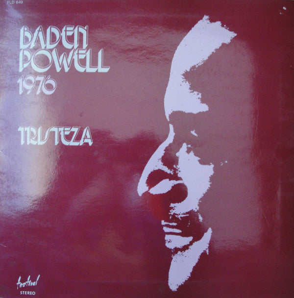 Baden Powell ‎– 1976 - Tristeza (Vinyle usagé / Used LP)