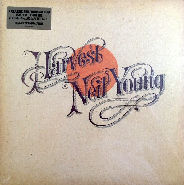 Neil Young ‎– Harvest (Vinyle neuf/New LP)