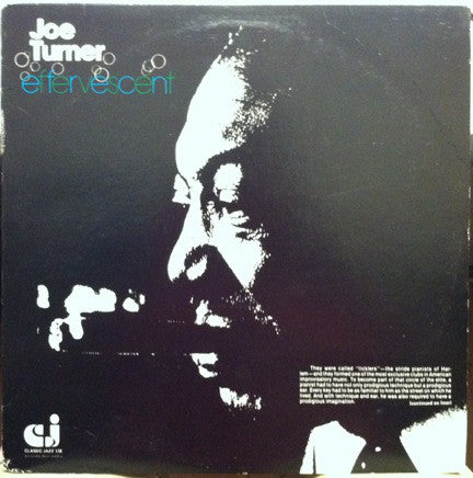 Joe Turner ‎– Effervescent (Vinyle usagé / Used LP)