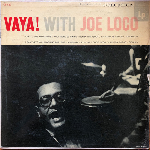 Joe Loco, His Piano And His Orchestra* ‎– VAYA! With Joe Loco (Vinyle usagé / Used LP)