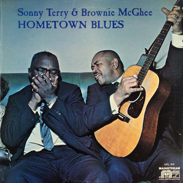 Sonny Terry & Brownie McGhee ‎– Hometown Blues (Vinyle usagé / Used LP)