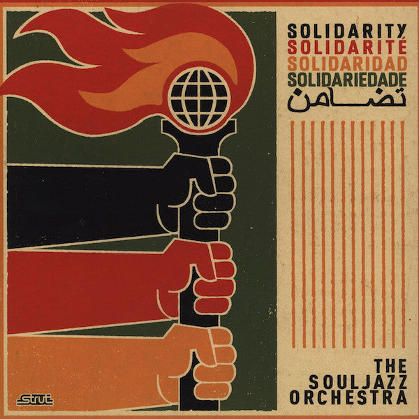 The Souljazz Orchestra ‎– Solidarity (Vinyle neuf/New LP)