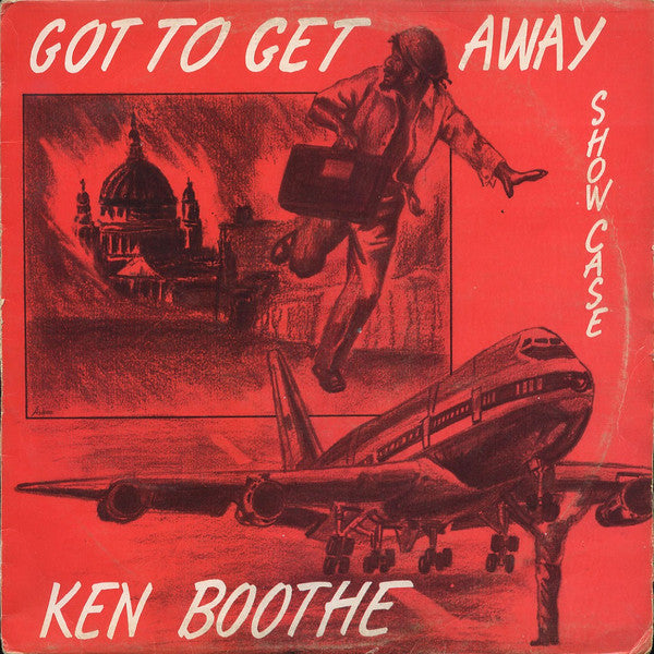 Ken Boothe ‎– Got To Get Away Showcase (Vinyle neuf/New LP)