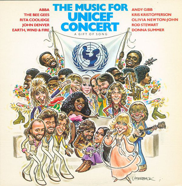 Various ‎– Music For Unicef Concert: A Gift Of Song (Vinyle usagé / Used LP)