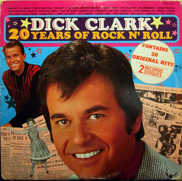 Dick Clark ‎– 20 Years Of Rock N' Roll (Vinyle usagé / Used LP)