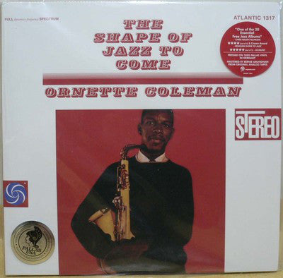 Ornette Coleman ‎– The Shape Of Jazz To Come (Vinyle neuf/New LP)