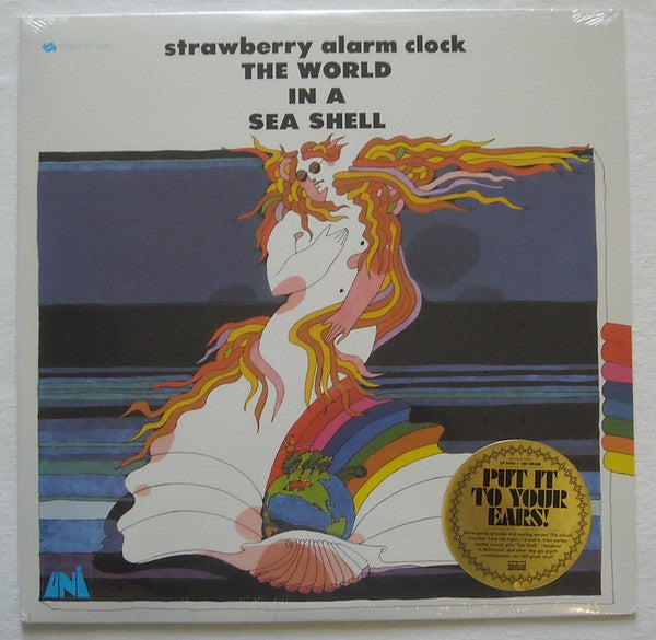 Strawberry Alarm Clock ‎– The World In A Sea Shell (Vinyle neuf/New LP)