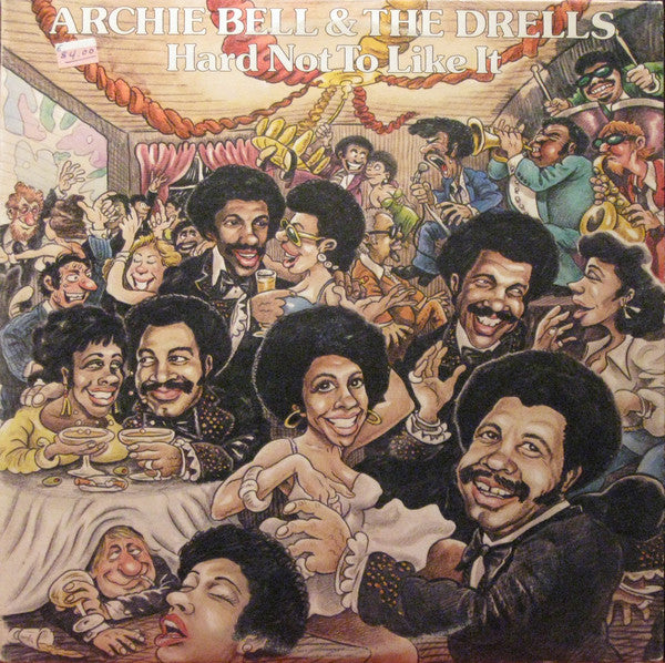 Archie Bell & The Drells ‎– Hard Not To Like It (Vinyle usagé / Used LP)