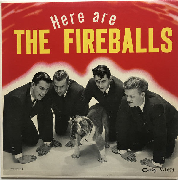 The Fireballs ‎– Here Are The Fireballs (Vinyle usagé / Used LP)