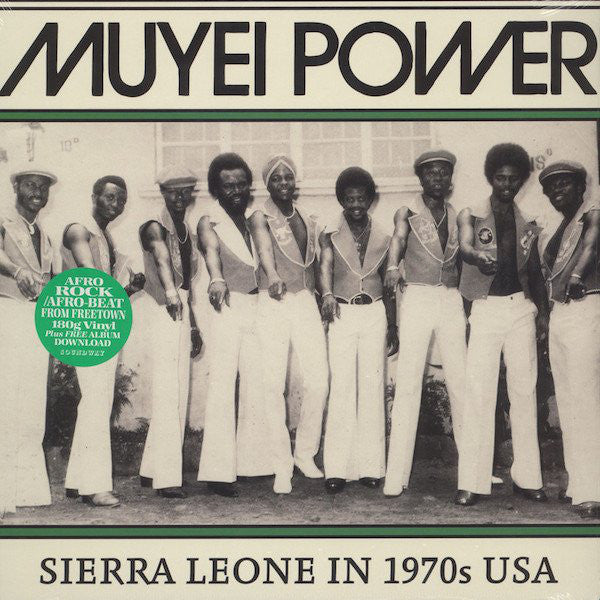 Muyei Power ‎– Sierra Leone In 1970s USA (Vinyle neuf/New LP)