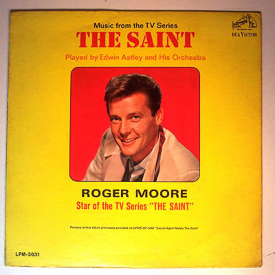 Edwin Astley And His Orchestra ‎– The Saint: Music From The TV Series (Vinyle usagé / Used LP)