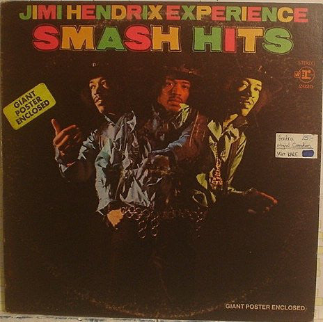 Jimi Hendrix Experience* ‎– Smash Hits (Vinyle usagé / Used LP)
