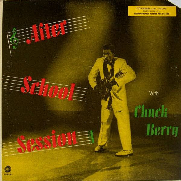 Chuck Berry ‎– After School Session (Vinyle usagé / Used LP)