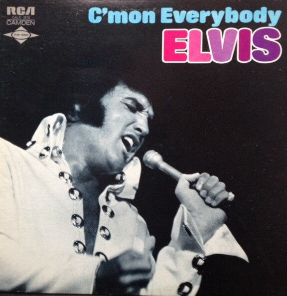 Elvis* ‎– C'mon Everybody (sealed) (Vinyle usagé / Used LP)