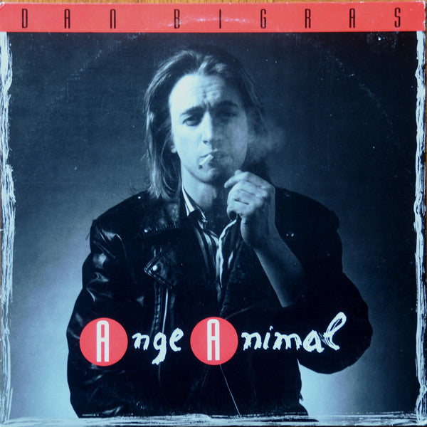 Dan Bigras ‎– Ange Animal (Vinyle usagé / Used LP)