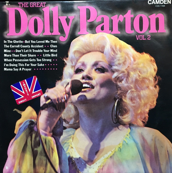 Dolly Parton ‎– The Great Dolly Parton Vol. 2 (Vinyle usagé / Used LP)