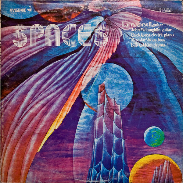 Larry Coryell ‎– Spaces (Vinyle usagé / Used LP)