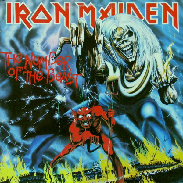 Iron Maiden ‎– The Number Of The Beast (Vinyle usagé / Used LP)