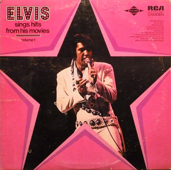 Elvis Presley ‎– Sings Hits From His Movies Volume 1 (sealed) (Vinyle usagé / Used LP)