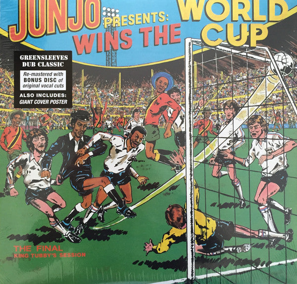 Junjo ‎– Wins The World Cup (The Final King Tubby's Session) (Vinyle neuf/New LP)