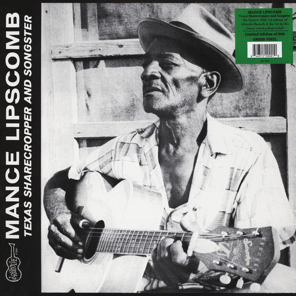 Mance Lipscomb ‎– Texas Sharecropper And Songster (Vinyle neuf/New LP)