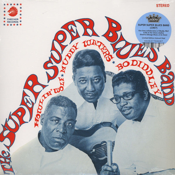 Howlin' Wolf, Muddy Waters & Bo Diddley ‎– The Super Super Blues Band (Vinyle neuf/New LP)