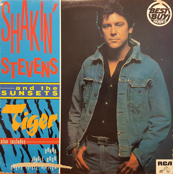 Shakin' Stevens And The Sunsets ‎– Tiger (Vinyle usagé / Used LP)