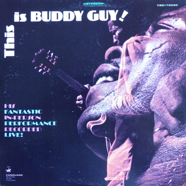 Buddy Guy ‎– This Is Buddy Guy! (Vinyle usagé / Used LP)