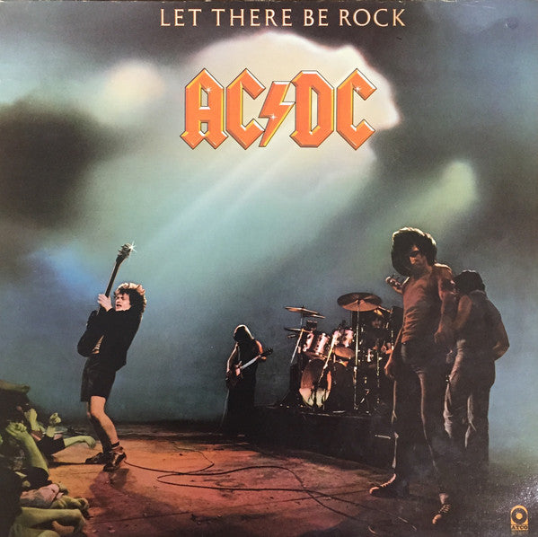 AC/DC ‎– Let There Be Rock (Vinyle usagé / Used LP)
