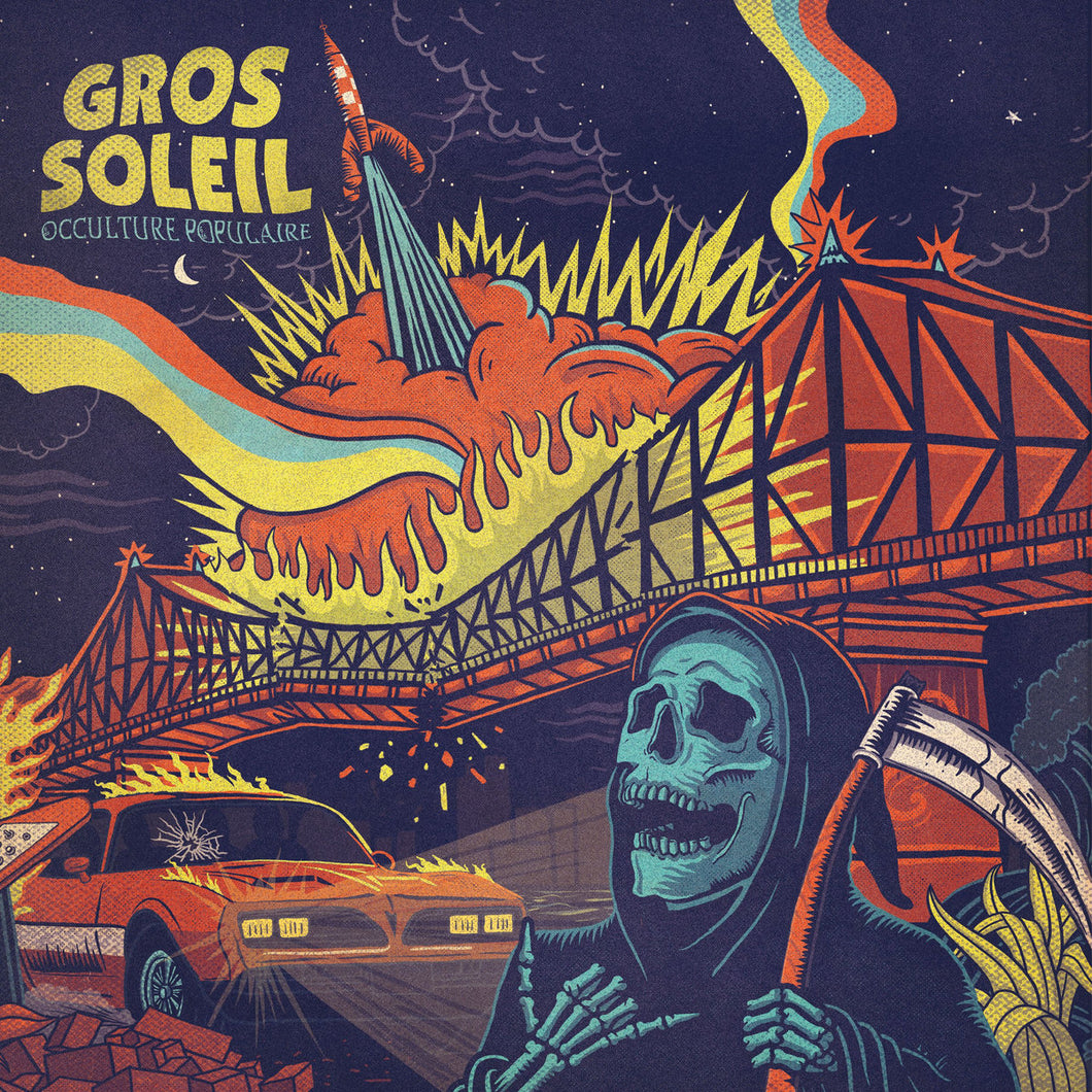 Gros Soleil ‎– Occulture Populaire (Vinyle neuf/New LP)
