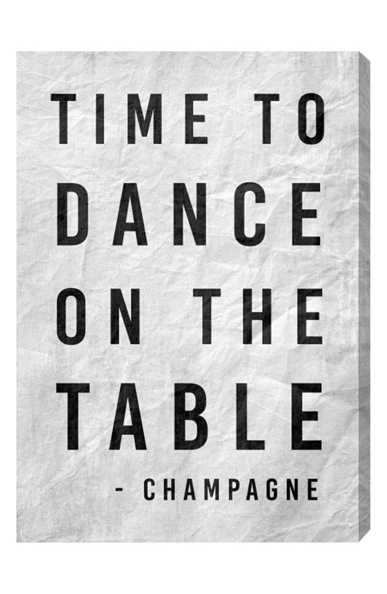 Time to Dance Canvas Wall Art