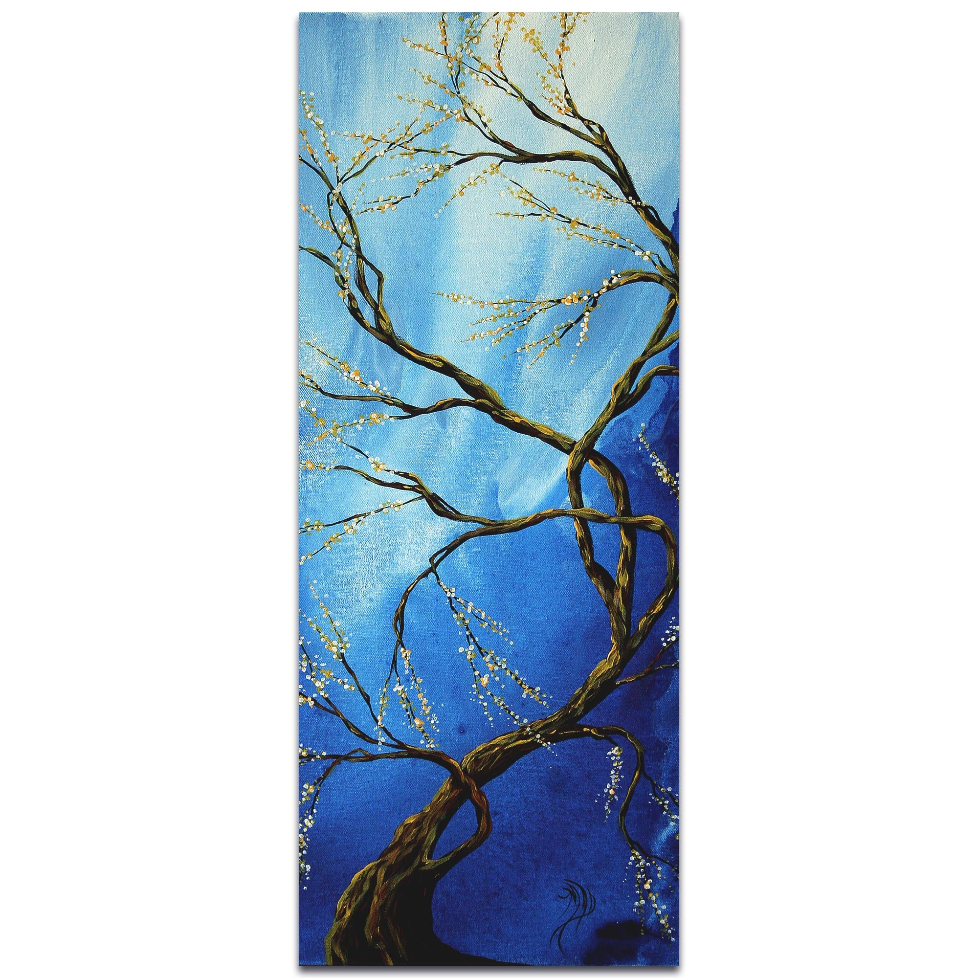 Infinite Heights by Megan Duncanson - Landscape Painting on Metal or Acrylic