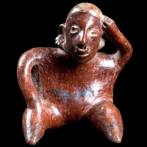 Nayarit Seated Headache Figure