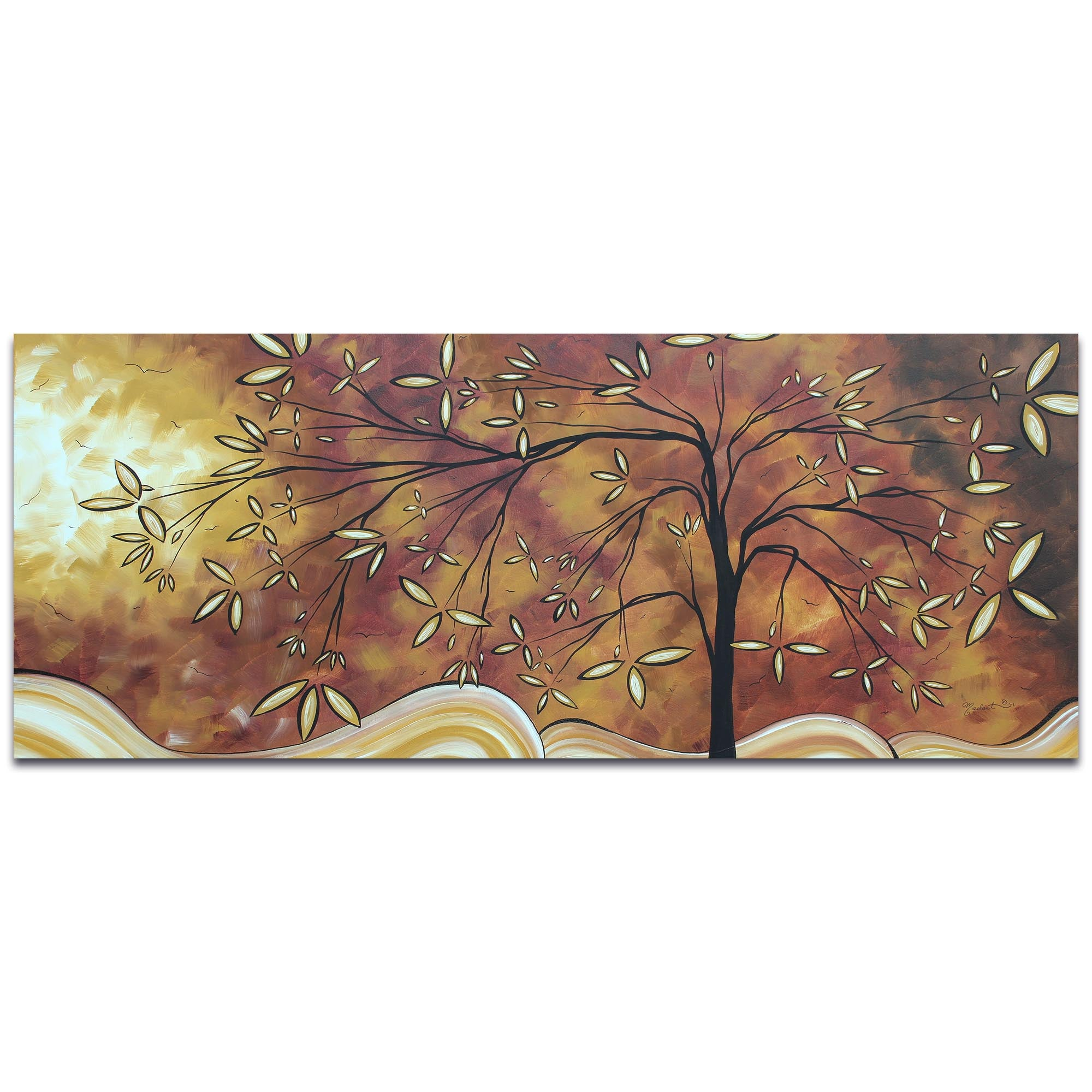 The Wishing Tree by Megan Duncanson - Landscape Painting on Metal or Acrylic