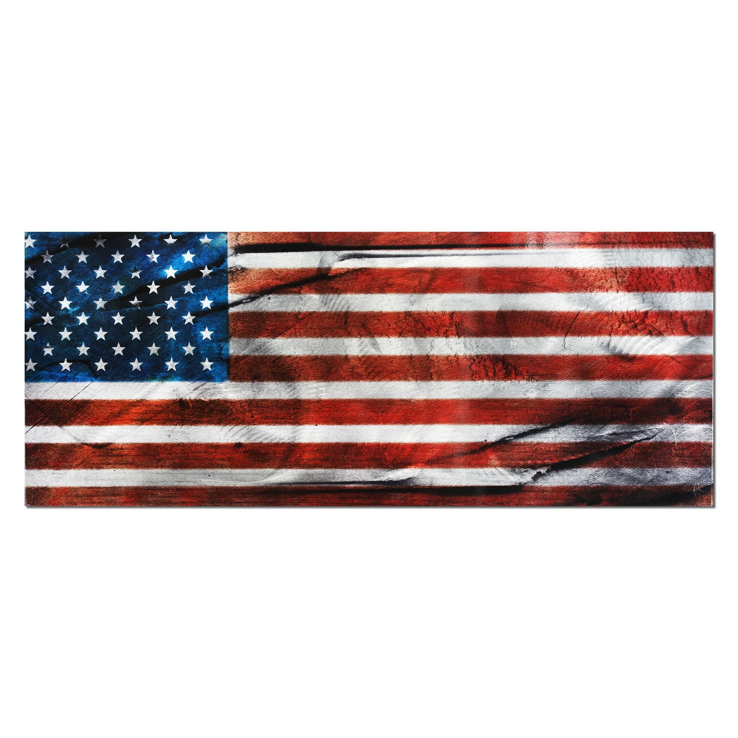 American Glory - Large Indoor/Outdoor Modern Metal Wall Art