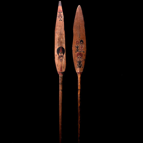 Northern Solomon Islands Ceremonial Canoe Paddles