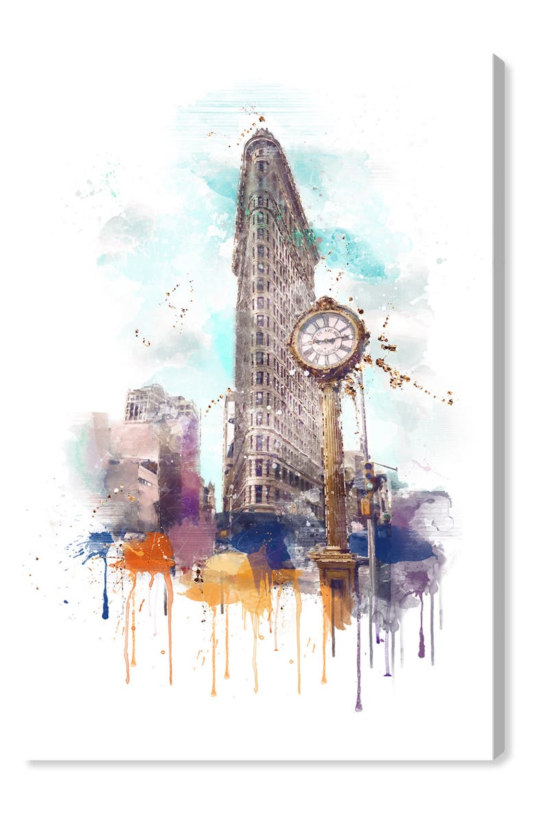 New York's Delight Canvas Wall Art