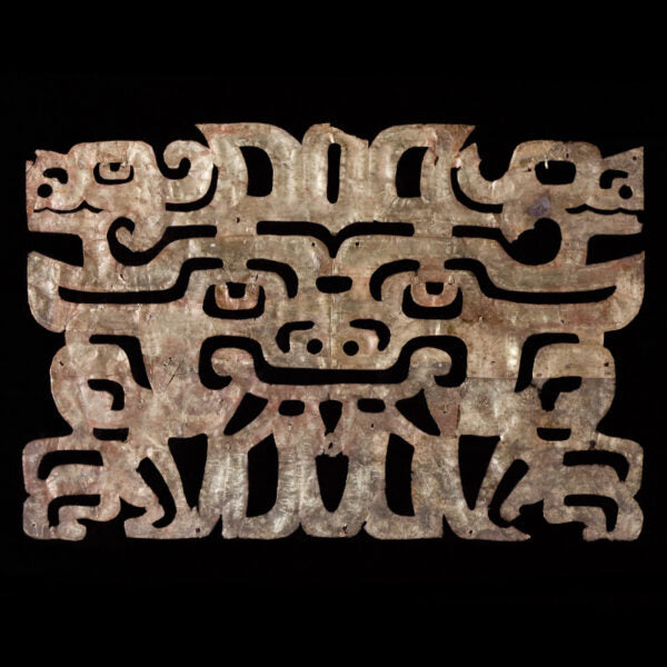 Very Important Gold Pectoral from the Chavin Culture 1000-400 B.C.