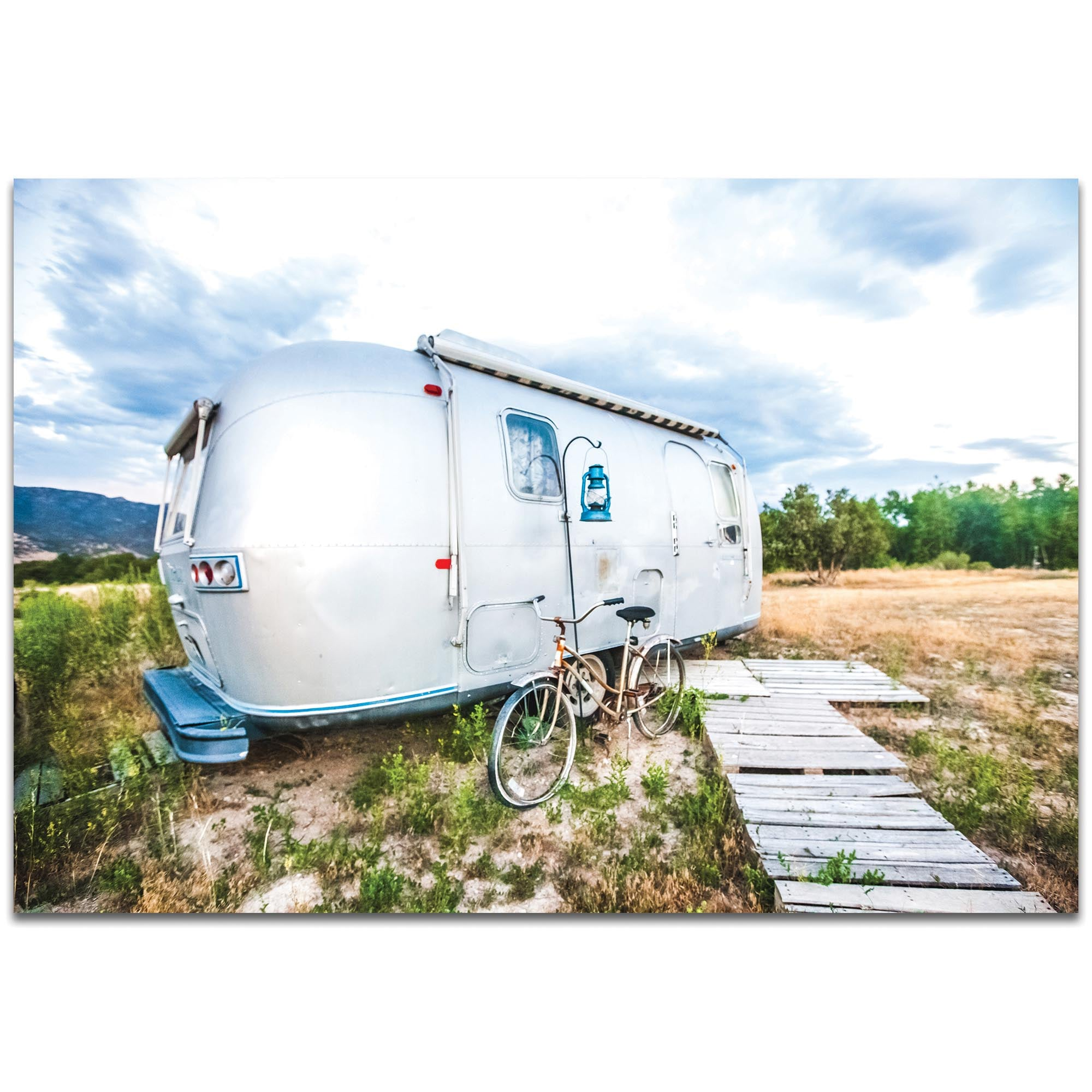 Airstream Life by Meirav Levy - Americana Wall Art on Metal or Plexiglass