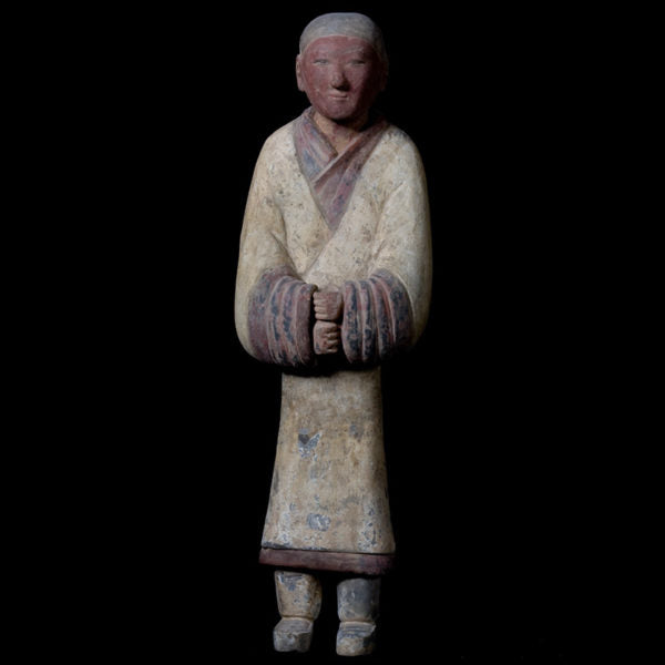 Elegant Han Dynasty Terracotta Warrior – China '206 BC – 220 AD' – TL Tested