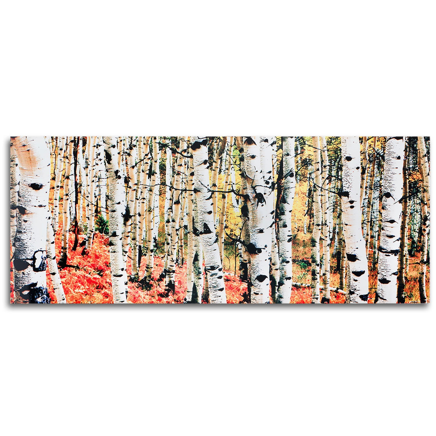 Aspen Grove - Large Indoor/Outdoor Modern Metal Wall Art