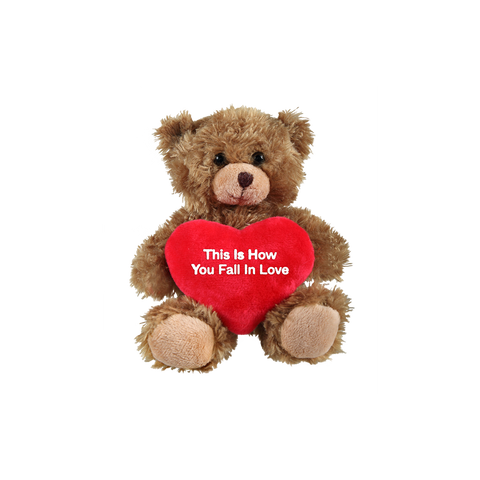 FALL IN LOVE TEDDY BEAR