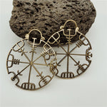 Vegvísir Earrings (Small)