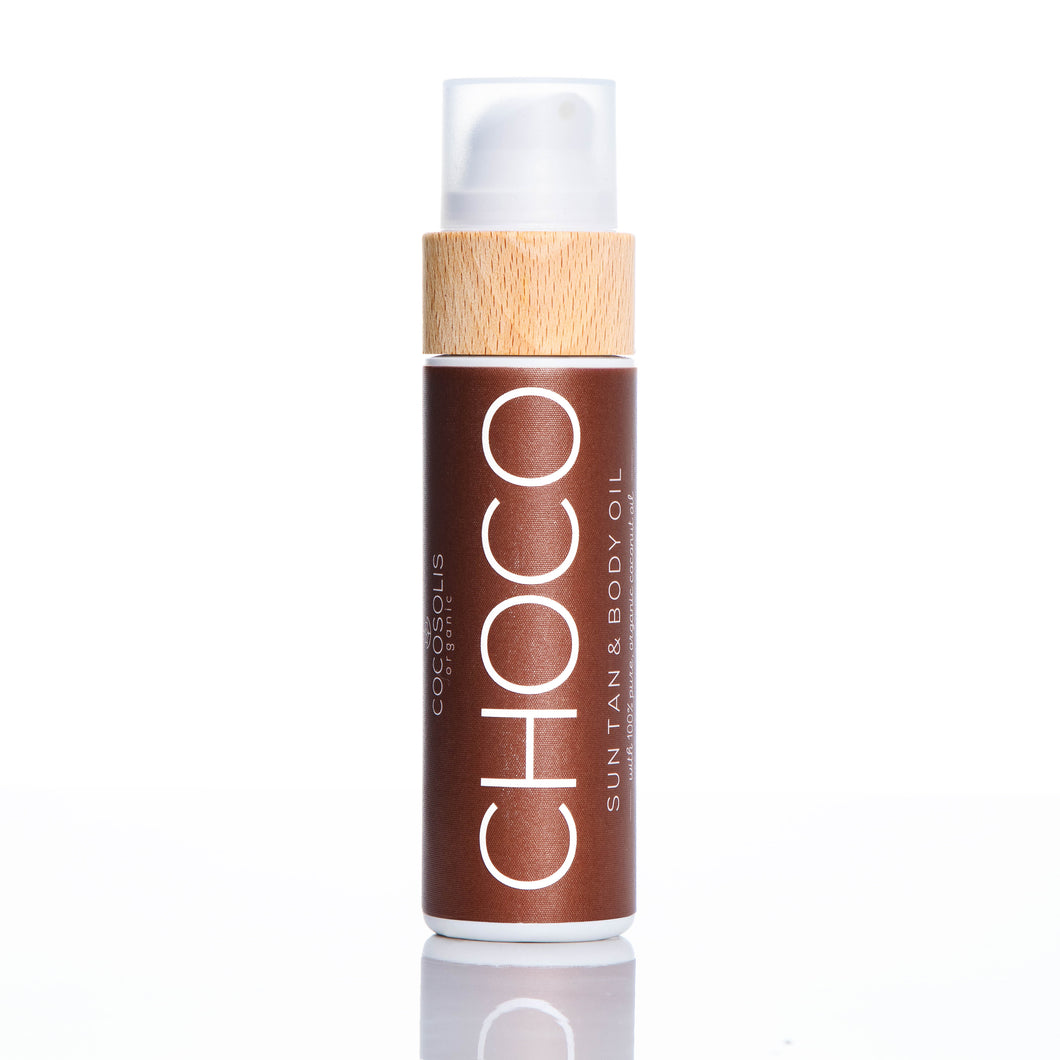 CHOCO, Suntan Face & Body Oil